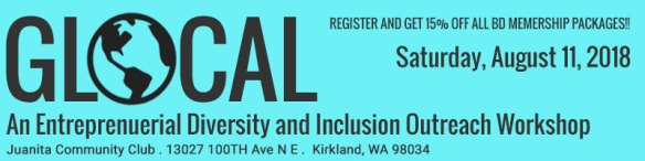 GLocal Outreach: An Entrprenuerial Diversity and Inclusion Workshop