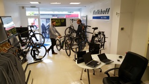 London Electric Bike Showroom
