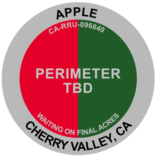 Apple Fire Cherry Valley California