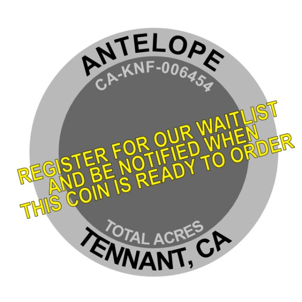 Antelope Fire Challenge Coin