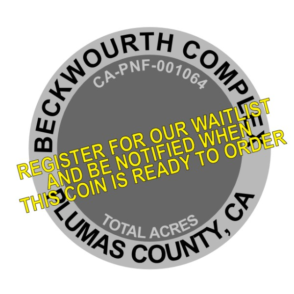 Beckwourth Compex Fire Challenge Coin