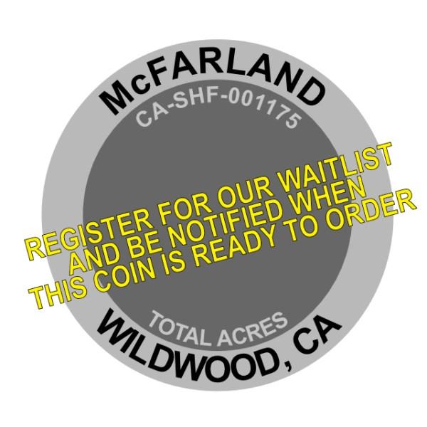 McFarland Fire Challenge Coin