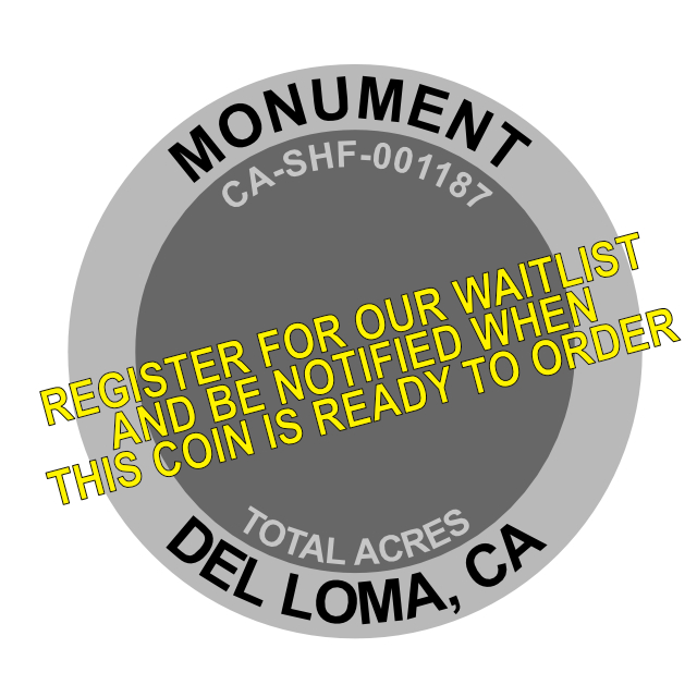 Monument Fire Challenge Coin