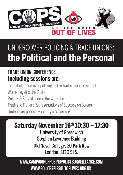 https://i2.wp.com/campaignopposingpolicesurveillance.com/wp-content/uploads/2019/07/Spycops-Trade-Union-conference-flier.jpg