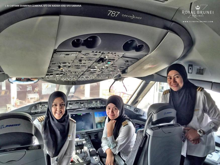 Female-Flight-Deck-royal-brunei