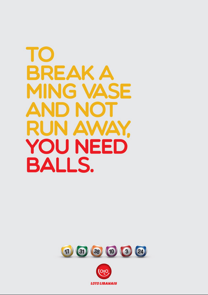 Loto Libanais: You need balls