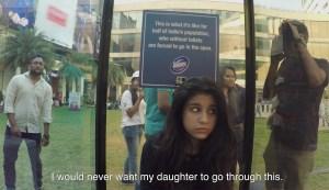 Hindustan Unilever domex see through toilet