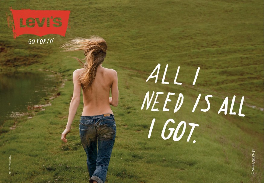 Levis Go Forth Campaign