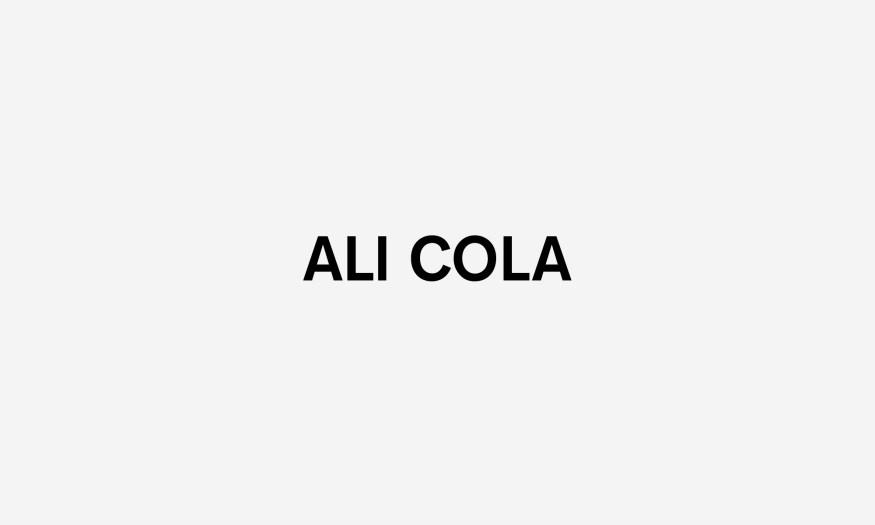 Ali cola logo