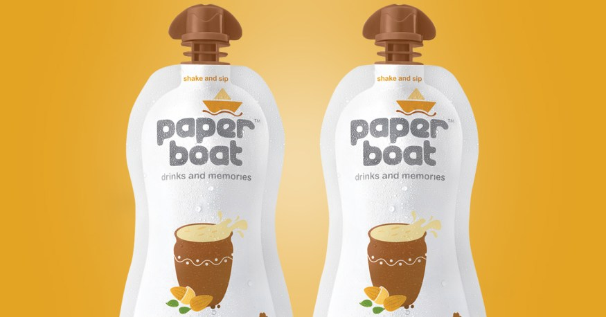 Paper Boat drink thandai pack