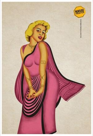 Local Marilyn by Nukkad Printers
