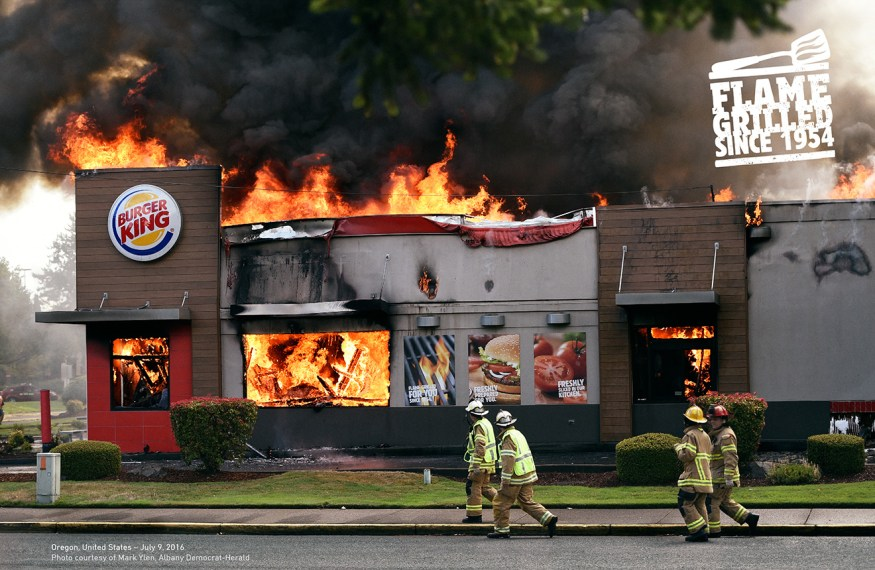 Flame Grilled Burger king