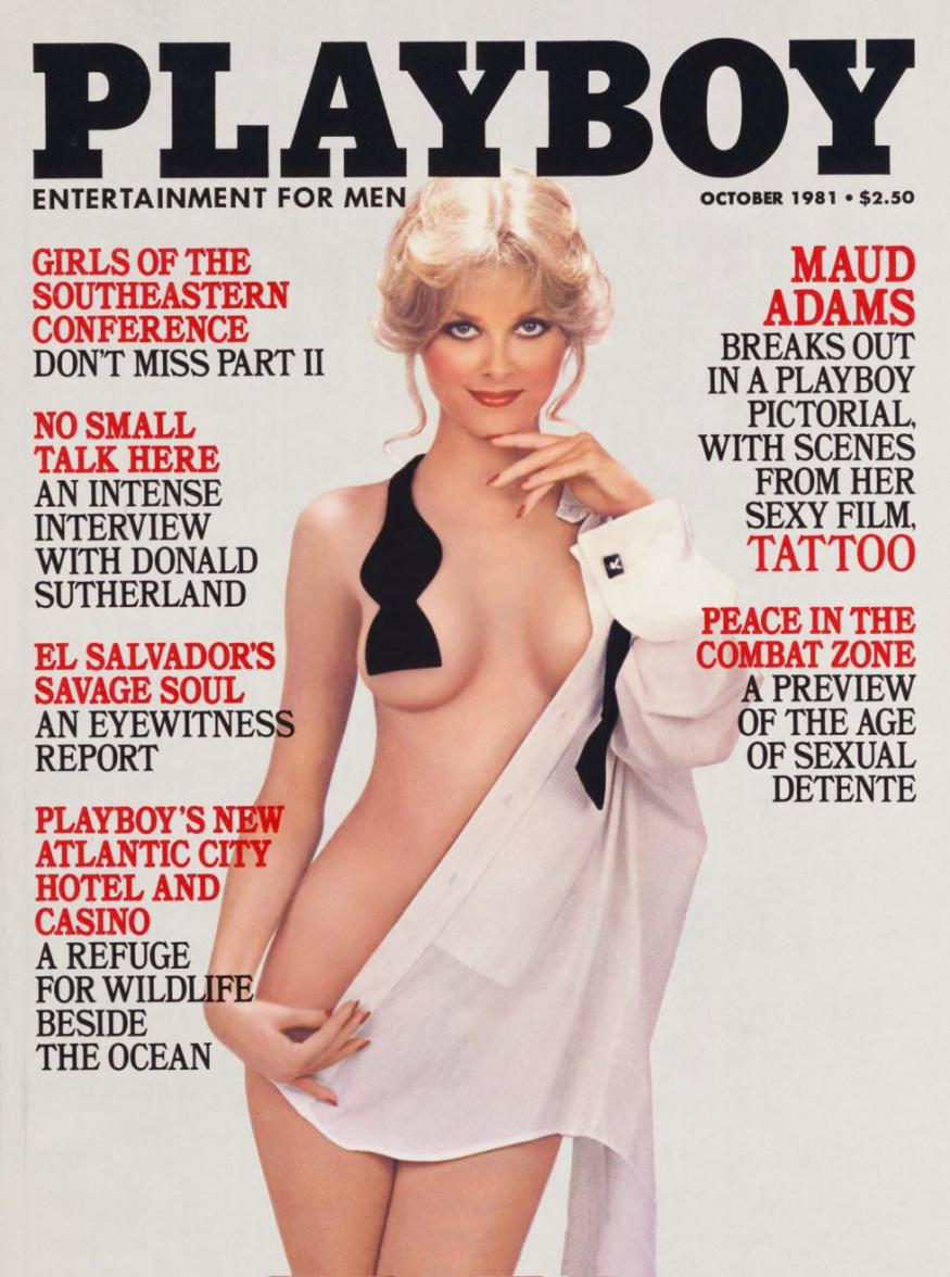 Cathy St. George Playboy magazine