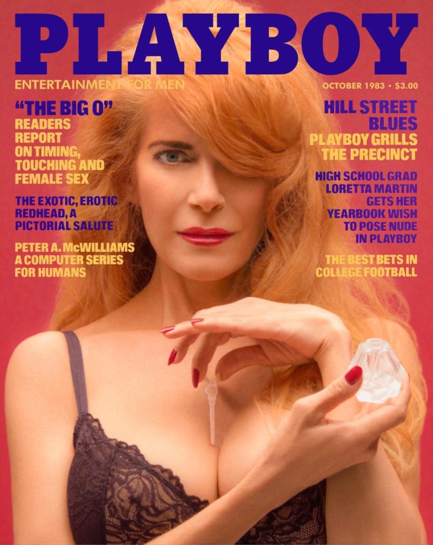 Charlotte Kemp Playboy magazine