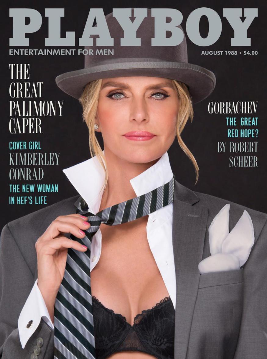 Kimberly Conrad Hefner Playboy magazine
