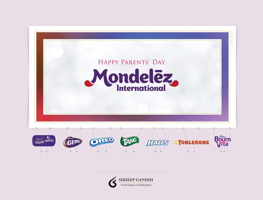 Mondelez print ad