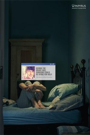 Papyrus #BraveFace | suicidal feelings