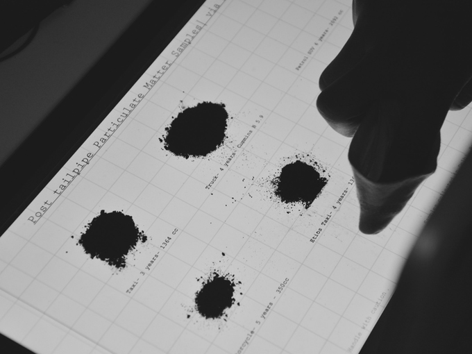 Air Ink Sample testing