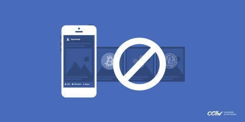 Cryptocurrency Ads banned