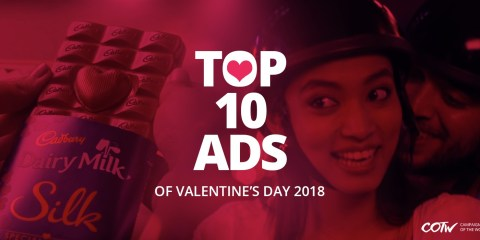 Top 10 ad campaigns of valentine's 2018