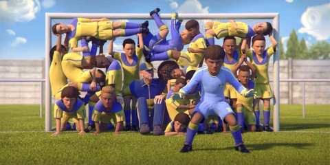 Gatorade - Heart of a Lio | Animated short film about Lionel Messi