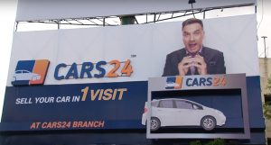 Cars24 OOH Campaign