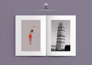 International Yoga Day Print Advertising