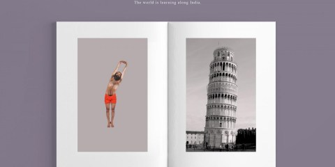 International Yoga Day Print Advertising