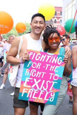 Signs of Pride - L'Oréal for LGBTQ+ community