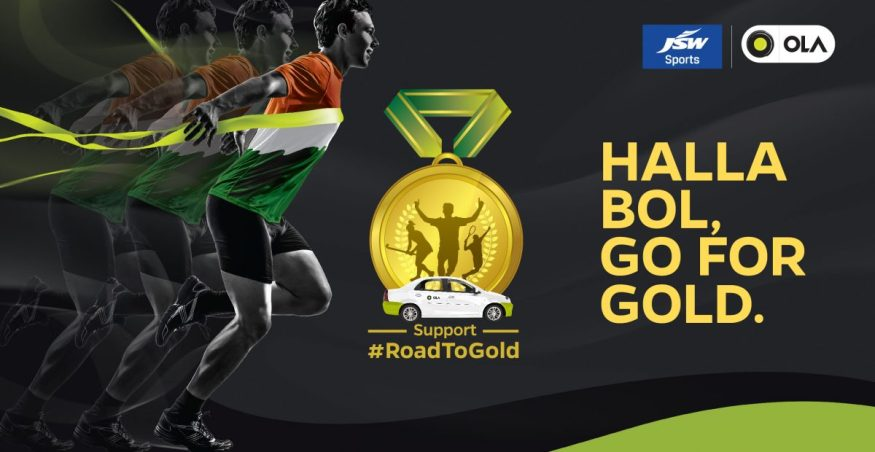 Ola Road To Gold - Crowdfunding campaign