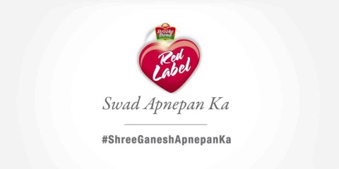 Brooke Bond Red label Tea #ShreeGaneshApnepanKa