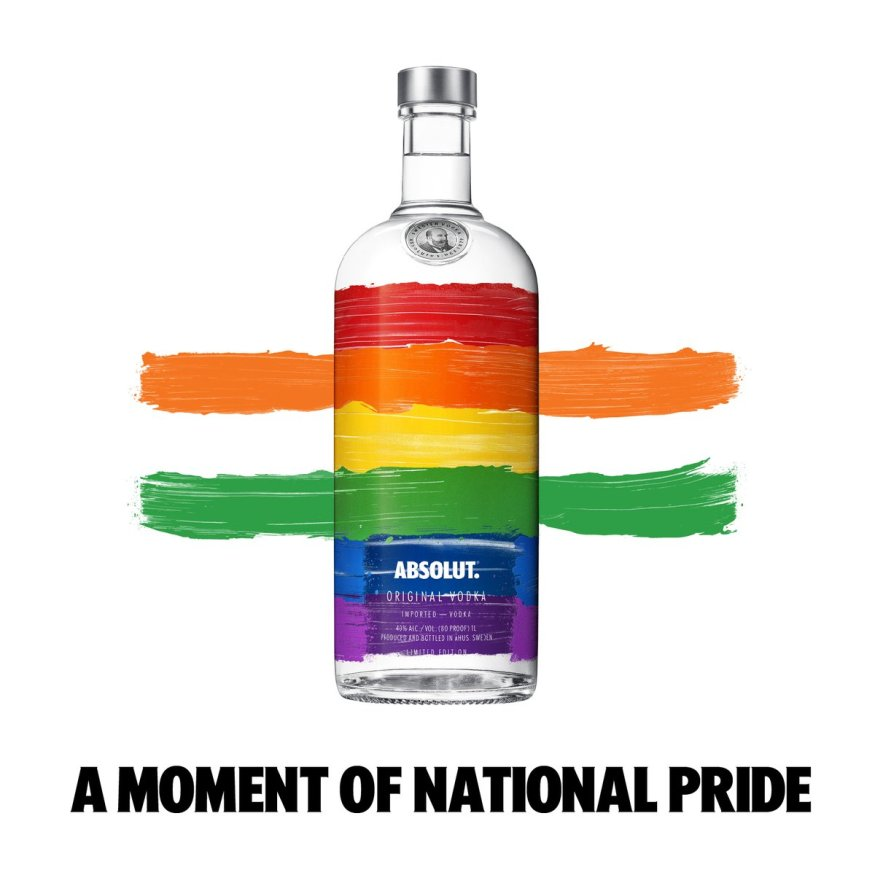 Absolut a moment of national pride - Section 377 | LGBTQ