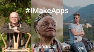 Google #IMakeApps campaign