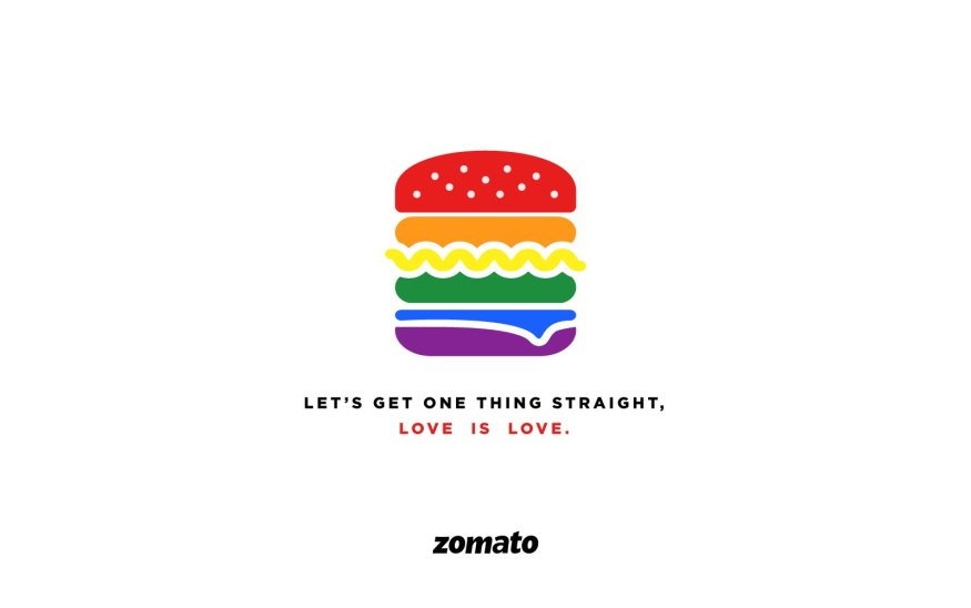 zomato let's get one thing straight- Section 377 | LGBTQ