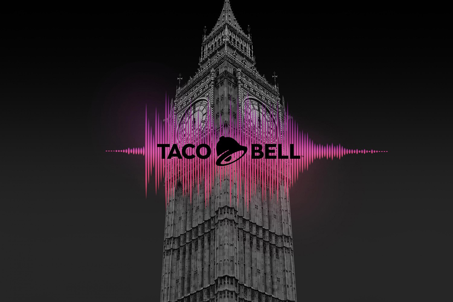 Taco Bell announces its arrival in London the Big Ben style!
