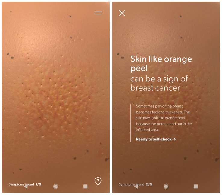 Breast Cancer Foundation Pre Check App To Look For Breast Cancer