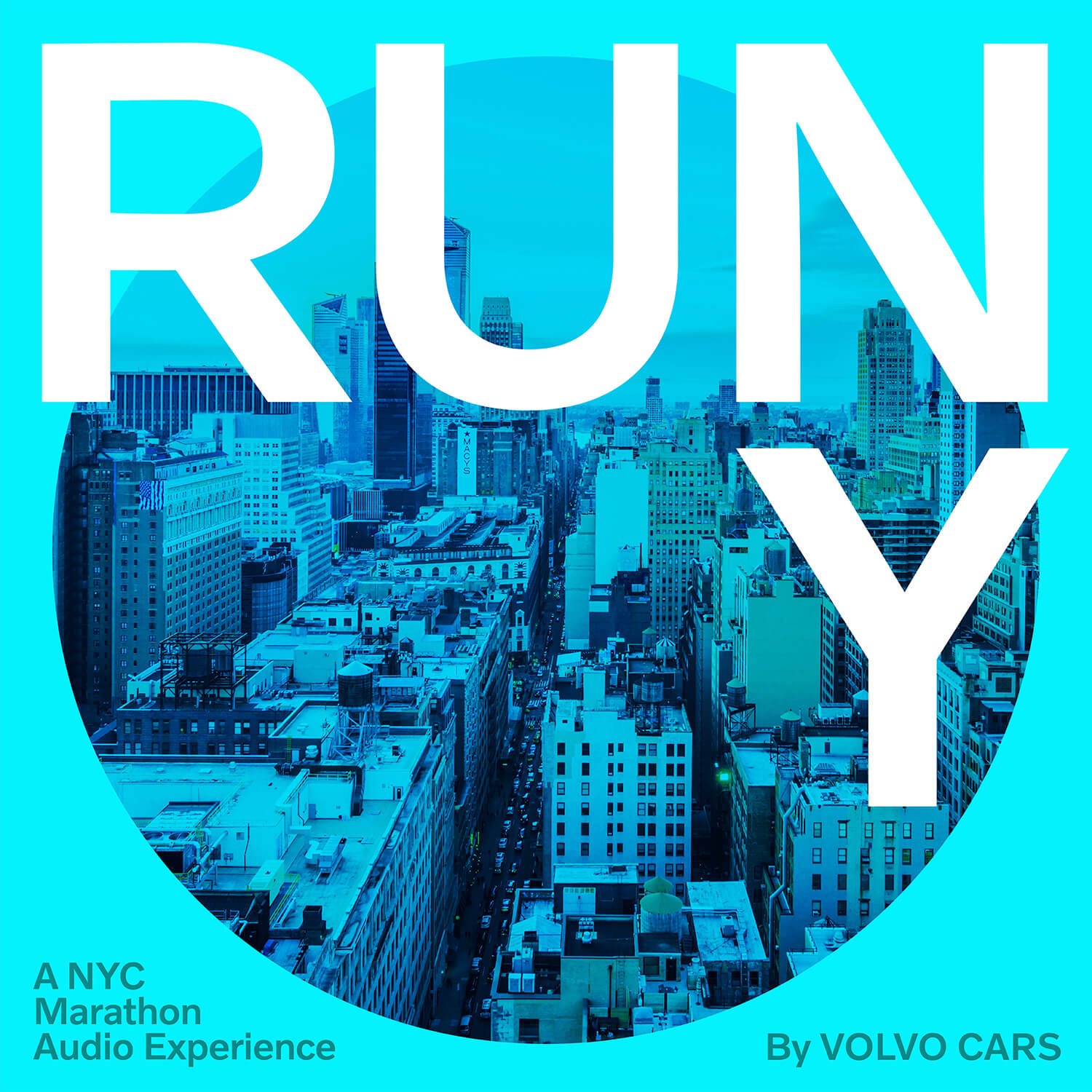 Experience New York City Marathon in an audio poem by Volvo Cars