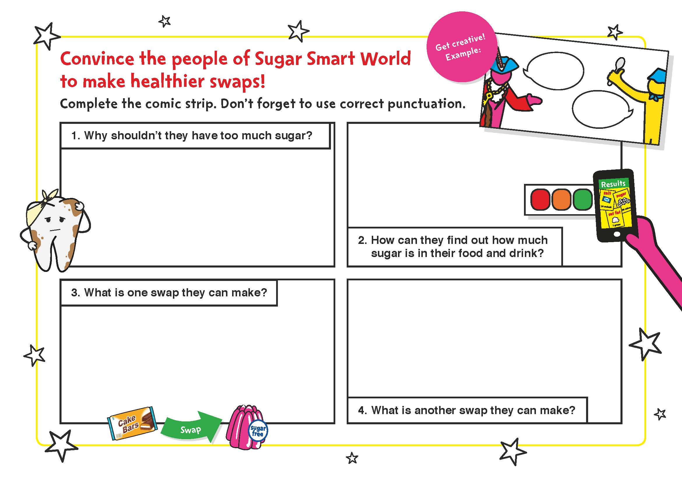 Sugar Smart World English Worksheets