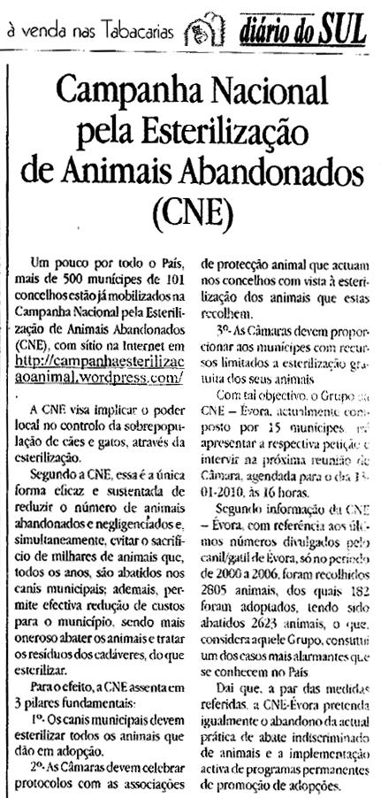 Noticia do Diário do Sul