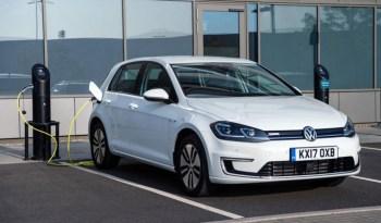 VW E-GOLF BRANCO 100% ELÉTRICO completo