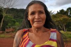 Senhora indígena, 2012, por Daniela Alarcon.