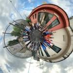 Un cerchio a 360°, ma tutti vicini vicini