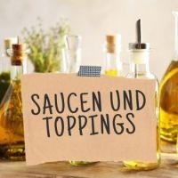 Saucen und Toppings