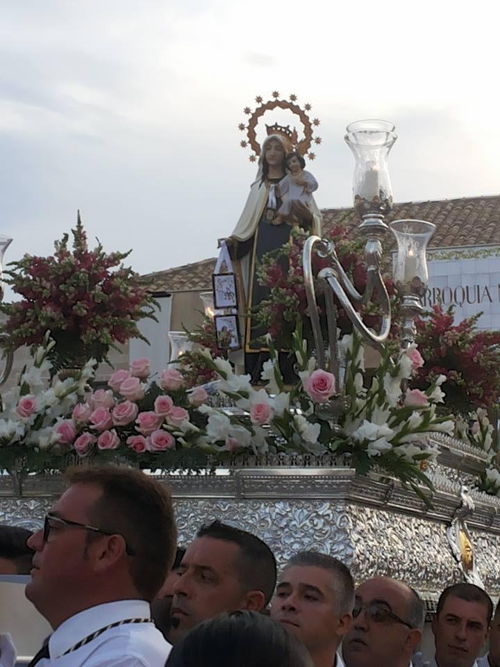 Miguel A. Serón pregona la salida procesional de la Virgen del Carmen