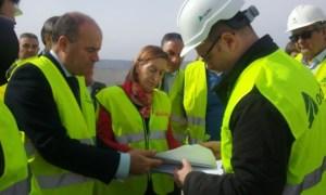 La Ministra de Fomento en funciones, en reciente visita a Málaga