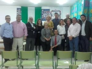 Reunión mantenida en Colmenarejo para la firma del convenio