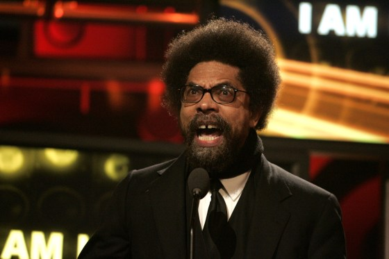 Cornel West - the hair alternative to a Hollywood