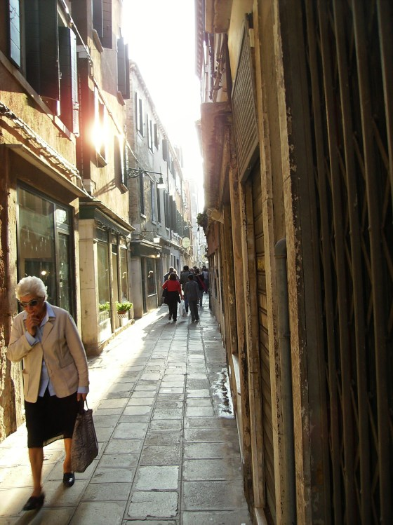 Growing old in Venice