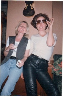 sofagirl (right) and Carla in the mid nineties