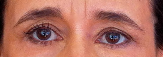 With or without mascara
